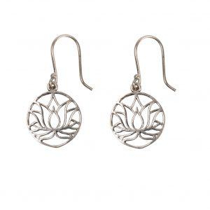 Boucles d'oreilles lotus