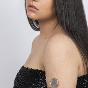 Bracelet bras fleur de vie taille unique