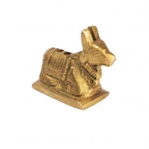 Porte encens vache Nandi sur socle 3 cm/2 cm 39g