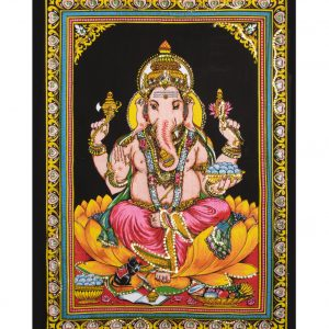 Dieu Ganesh avec sequins